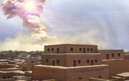 Queda de asteroide pode ter inspirado a história de Sodoma…